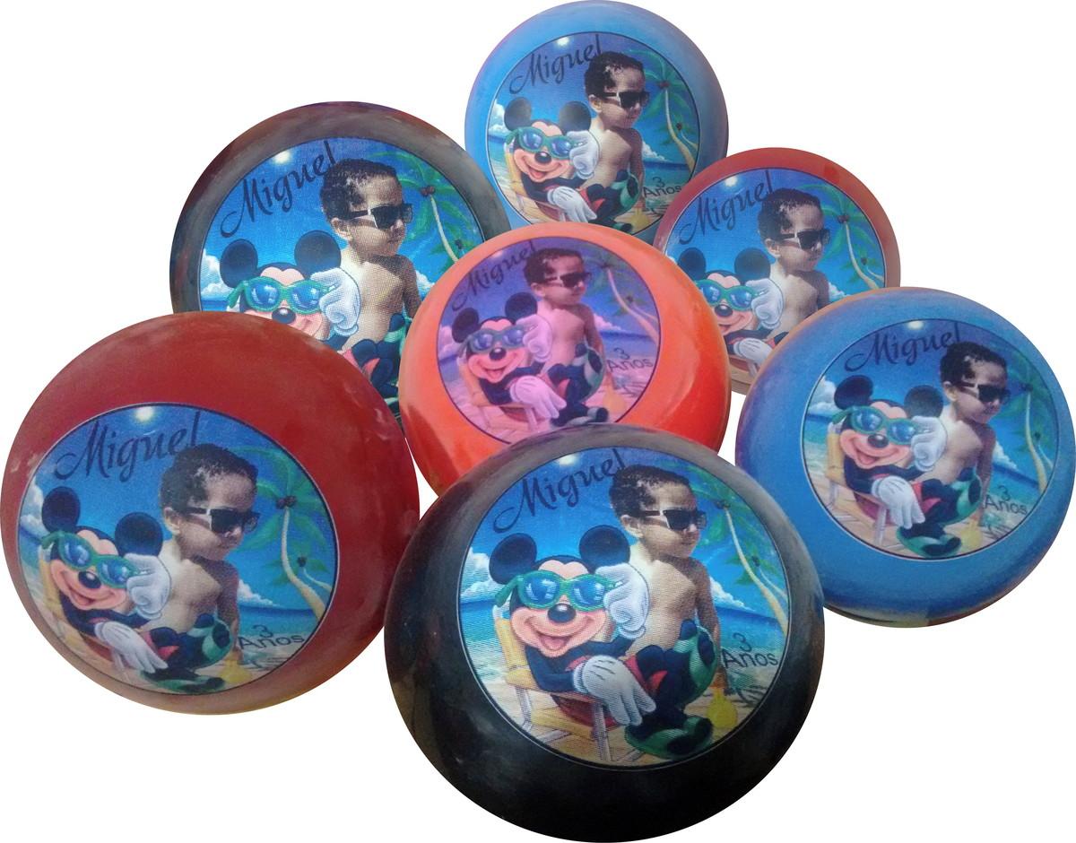 83fcd294ed5c Bola de vinil 25 Cm. impressão colorida FOTO no Elo7   Vip Canecas ...