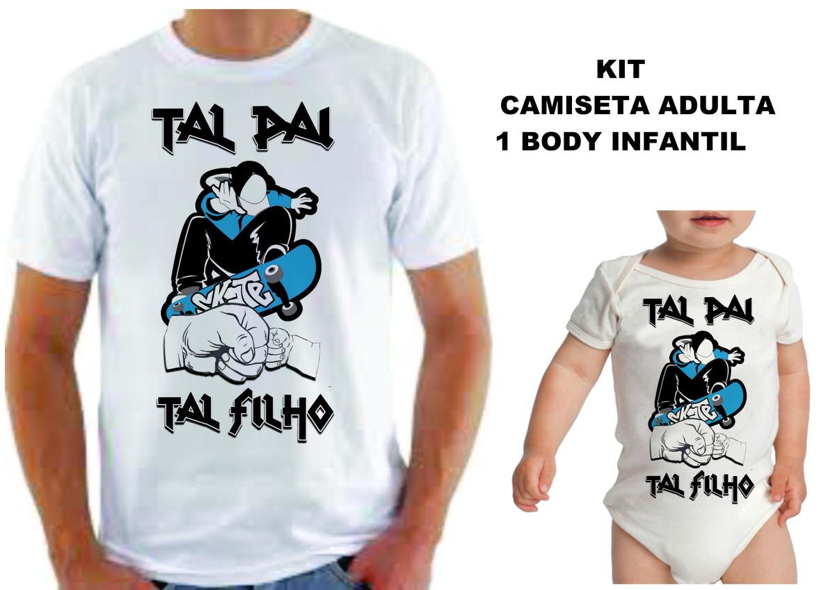 kit TAL PAI TAL FILHO SKATE no Elo7  09372e60103da
