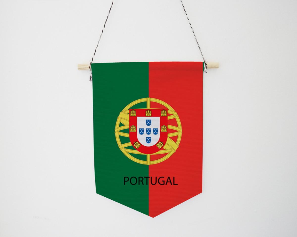 dcbc679cdc Bandeira Portugal - Flâmula no Elo7