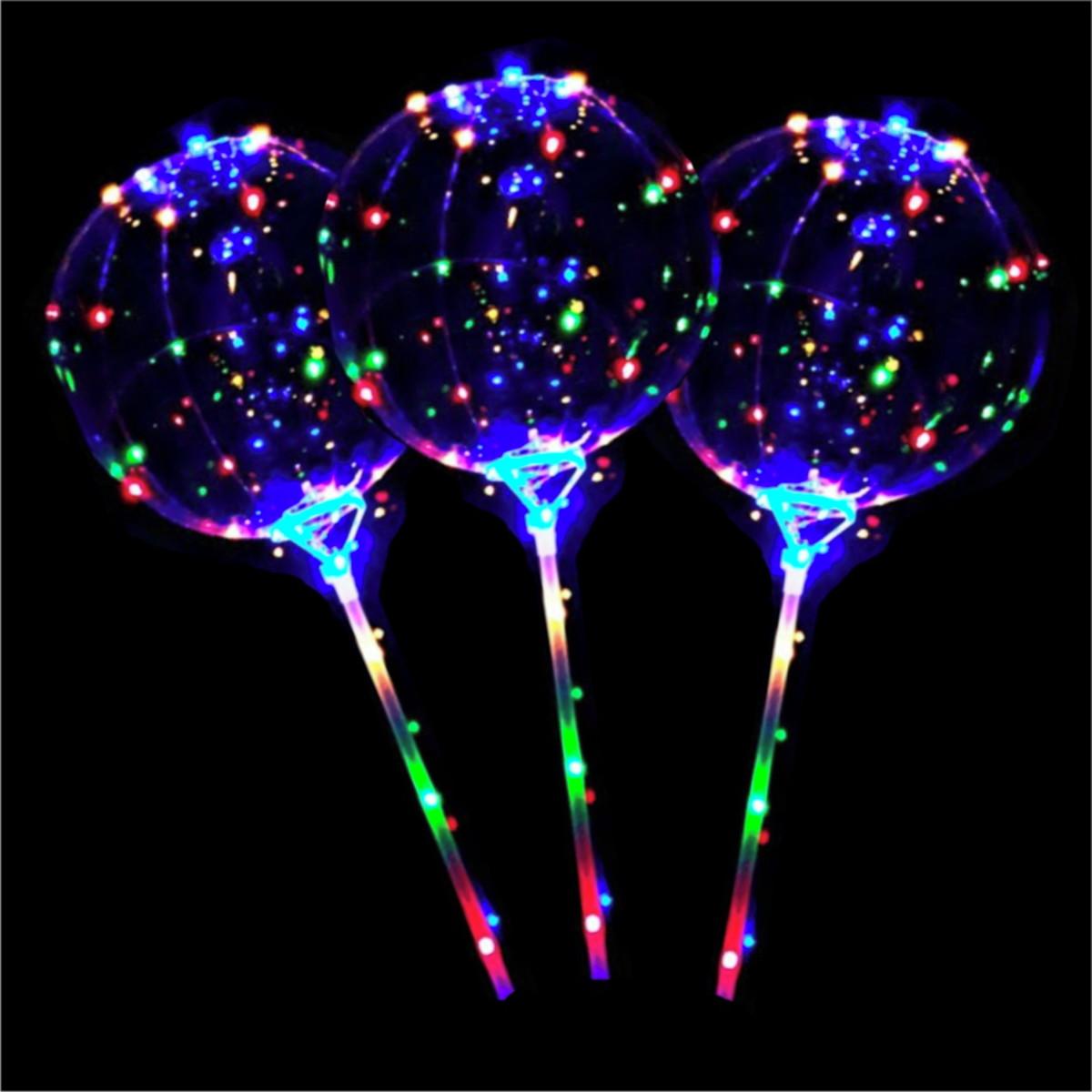 a5b0d6d3fc438 Balão Bubble Transparente luz led e Vareta Decoração Festas no Elo7 ...