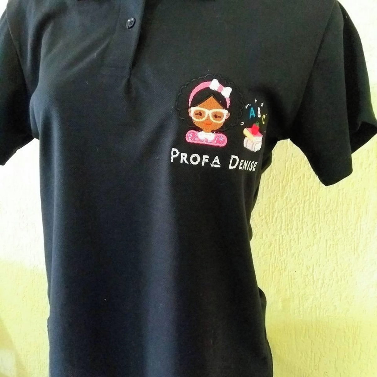 eb9104567e Camiseta polo bordada- Uniforme em geral no Elo7