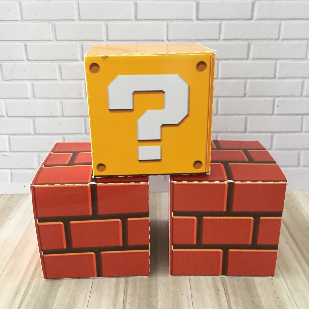 Caixa Cubo Mario Bros