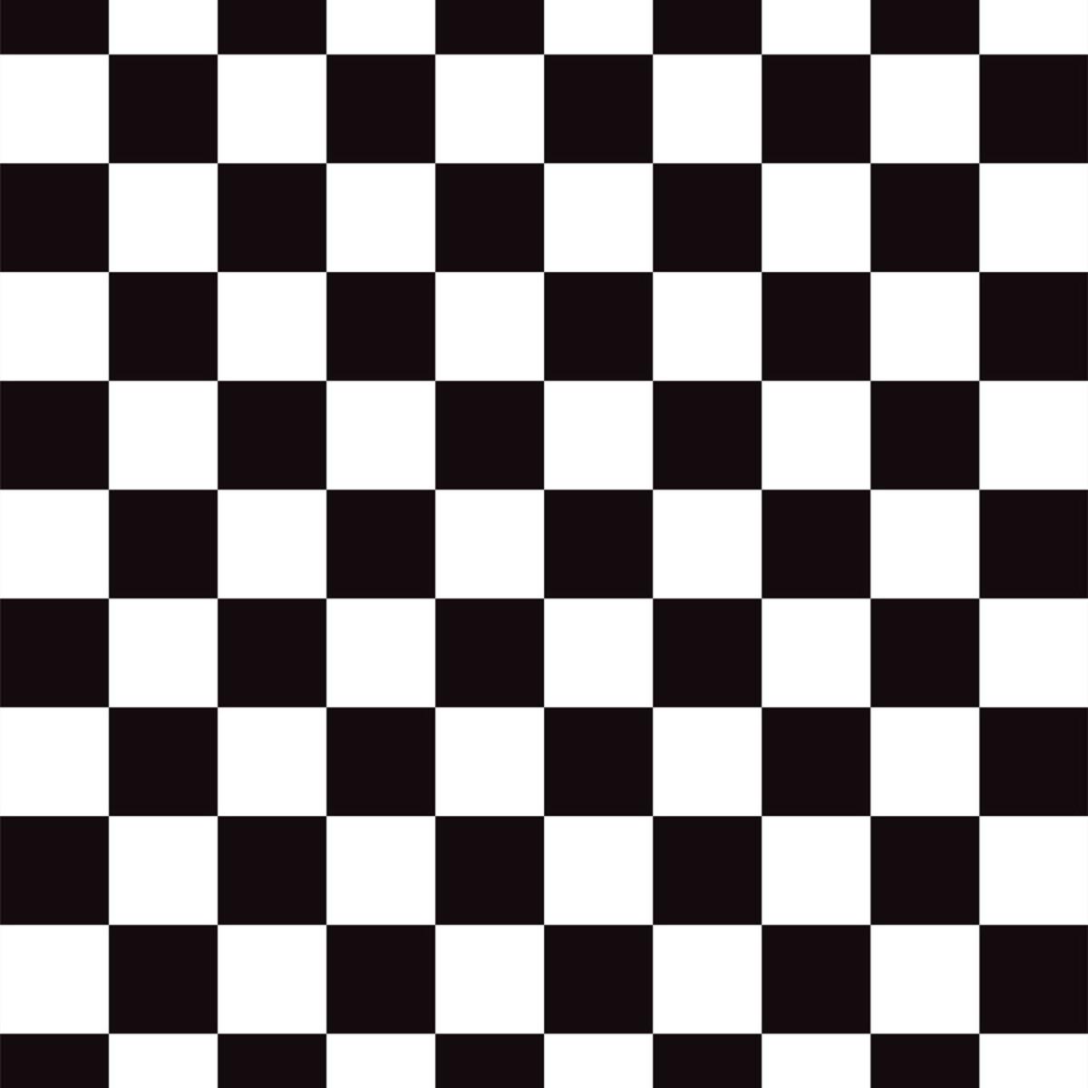 Papel De Parede Adesivo Xadrez Preto E Branco Vinil 3mt no Elo7 DecoraPlus (C520AE) # Decoração Xadrez Preto E Branco