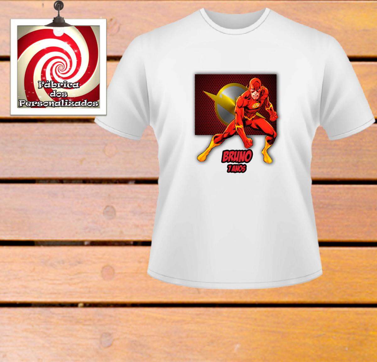 Camiseta Personalizada The Flash Linda estampa pra você! no Elo7 ... b94e546e3f7
