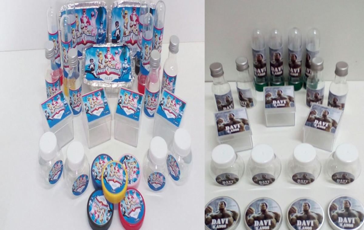 Kit Festa Infantil Power Rangers com 60 itens no Elo7  cd1435b82834c