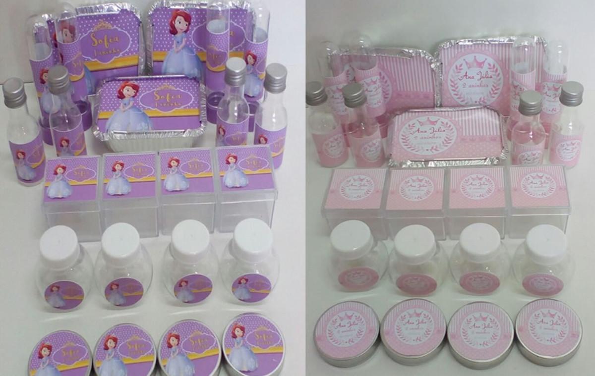 Kit Festa Infantil Princesa com 120 itens no Elo7  265bb92b79451