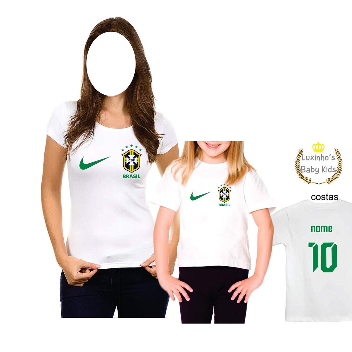 Camiseta personalizada Brasil copa no Elo7  875b89706a52b