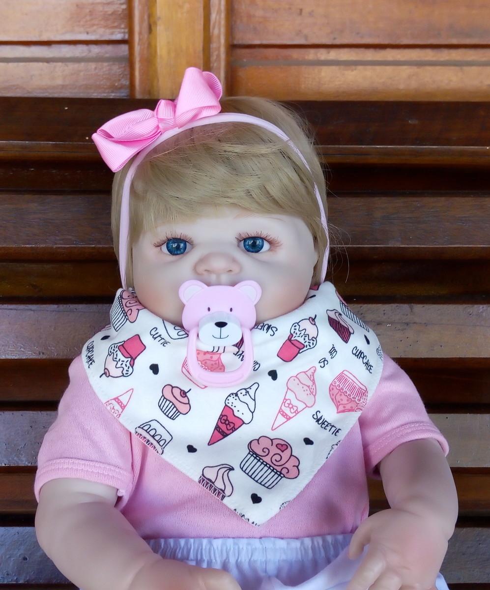 e9918722599 Bebê Reborn PRONTA ENTREGA Corpo Silicone Menina