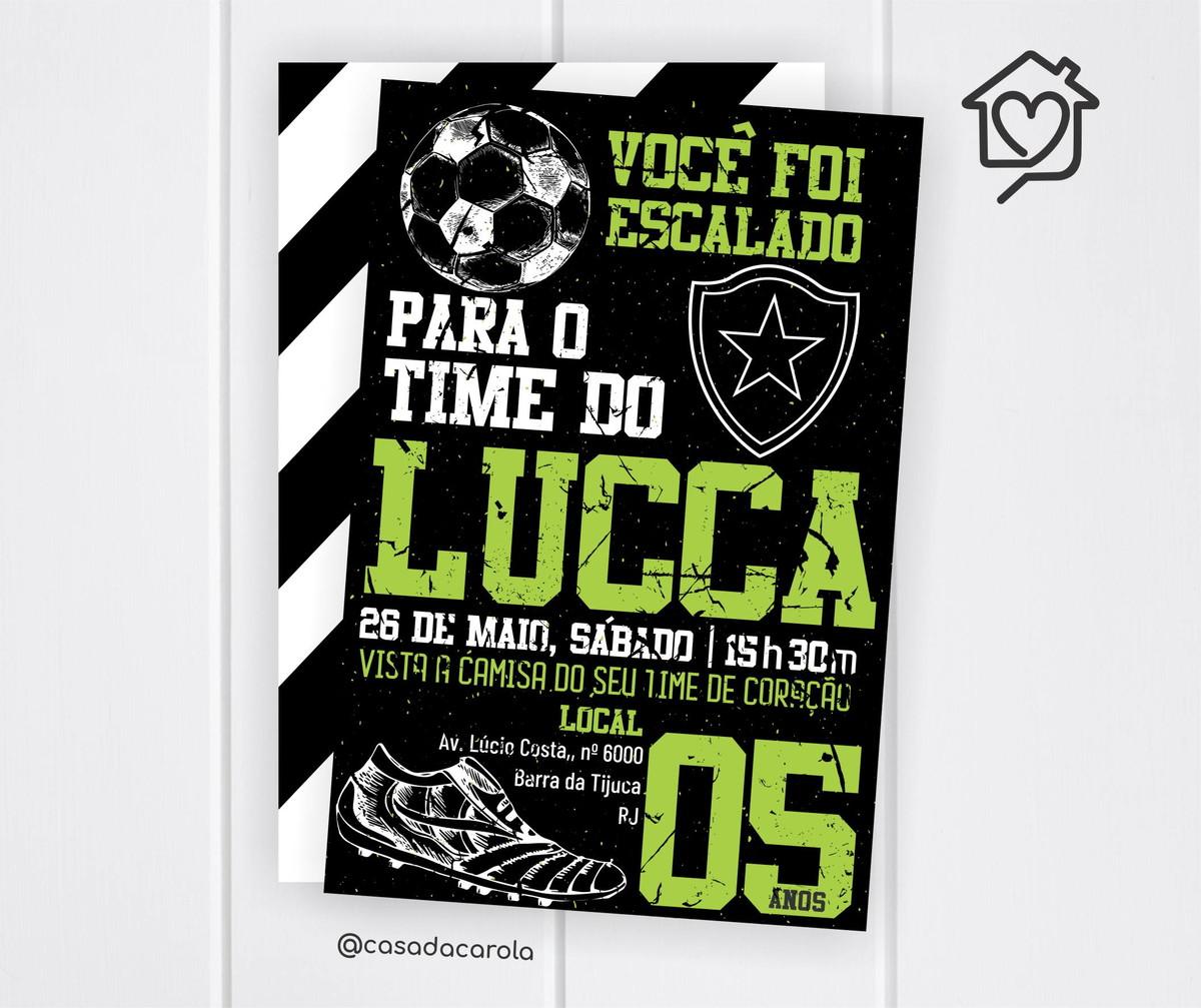 e635356272 Convite Digital Botafogo no Elo7
