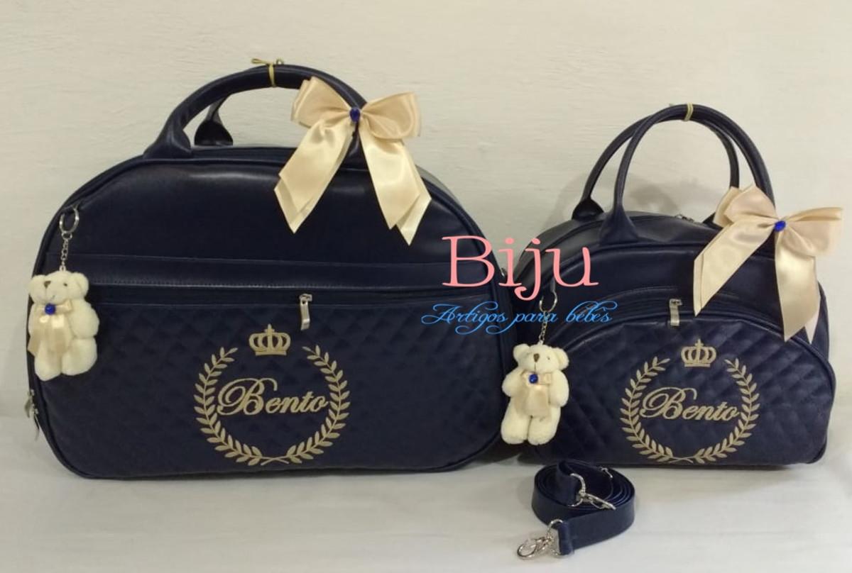 Kit Bolsas Maternidade Personalizado no Elo7  ff54060e40e