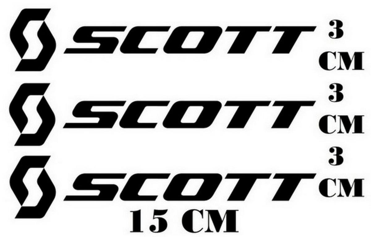 1d2f85718518 3 Adesivos Bike Scott Logo Ciclismo Com Frete Grátis no Elo7 ...