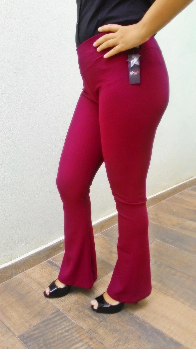 7eefc6955 Legging Flare Jacquard Boca de Sino G - Promoção!!! no Elo7 ...