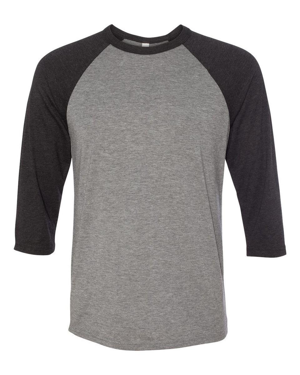 Camiseta-Raglan-Gola O-P a GG-Confeccionada com reforço no Elo7 ... 939297a3193