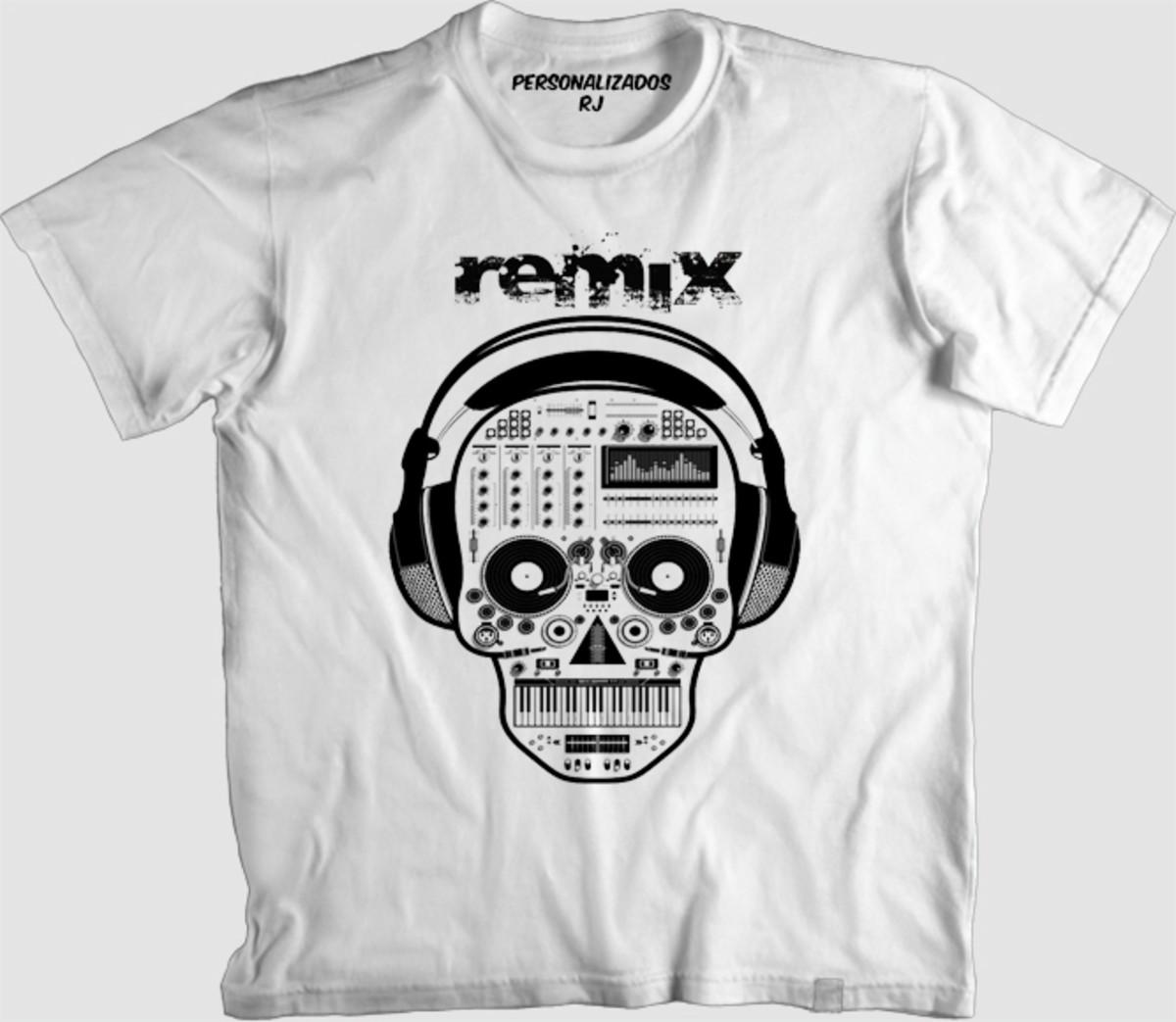 Camisa REMIX no Elo7  ca341a49de6