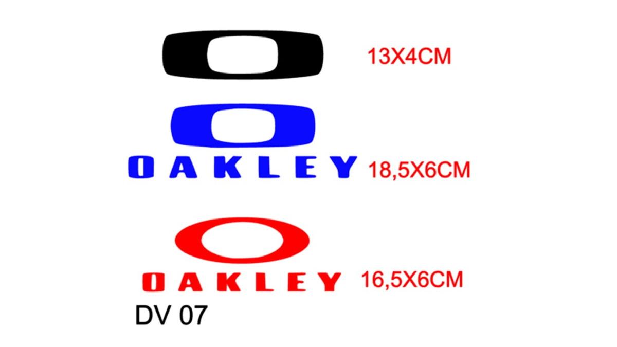 d62eb1bdcfa39 Adesivo decorativo marca oakley para carro no Elo7