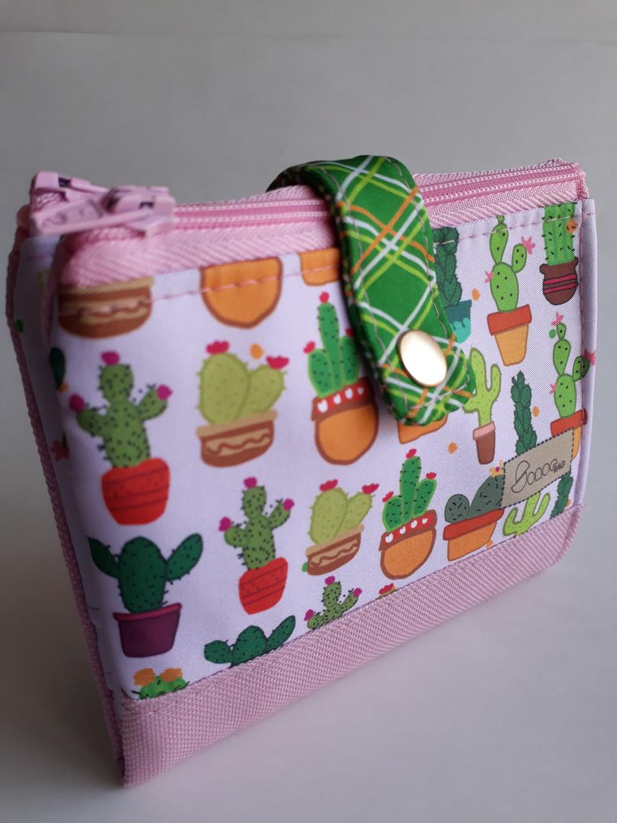 731c928c8 Mini-carteira - Cactus no Elo7