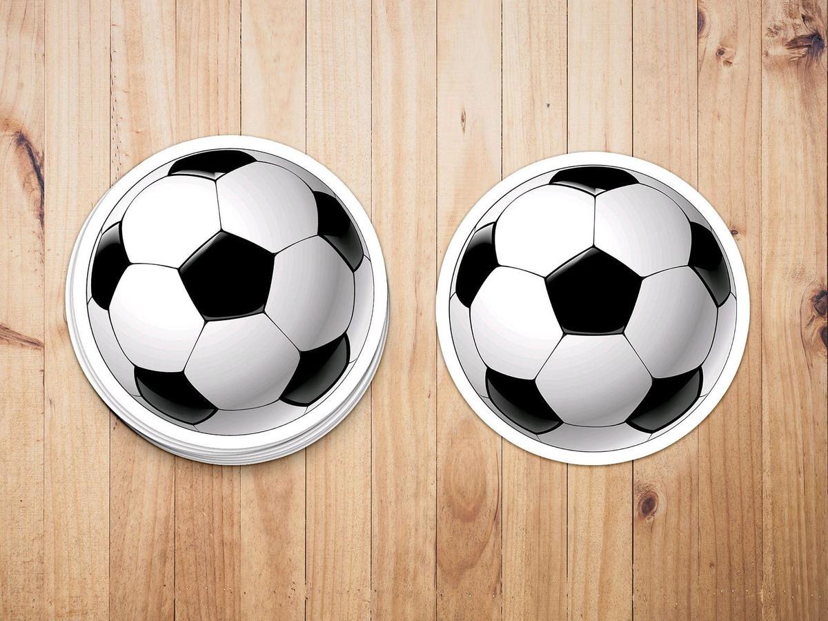 1a537ee4e5 Aplique adesivo tag - esporte bola futebol no Elo7
