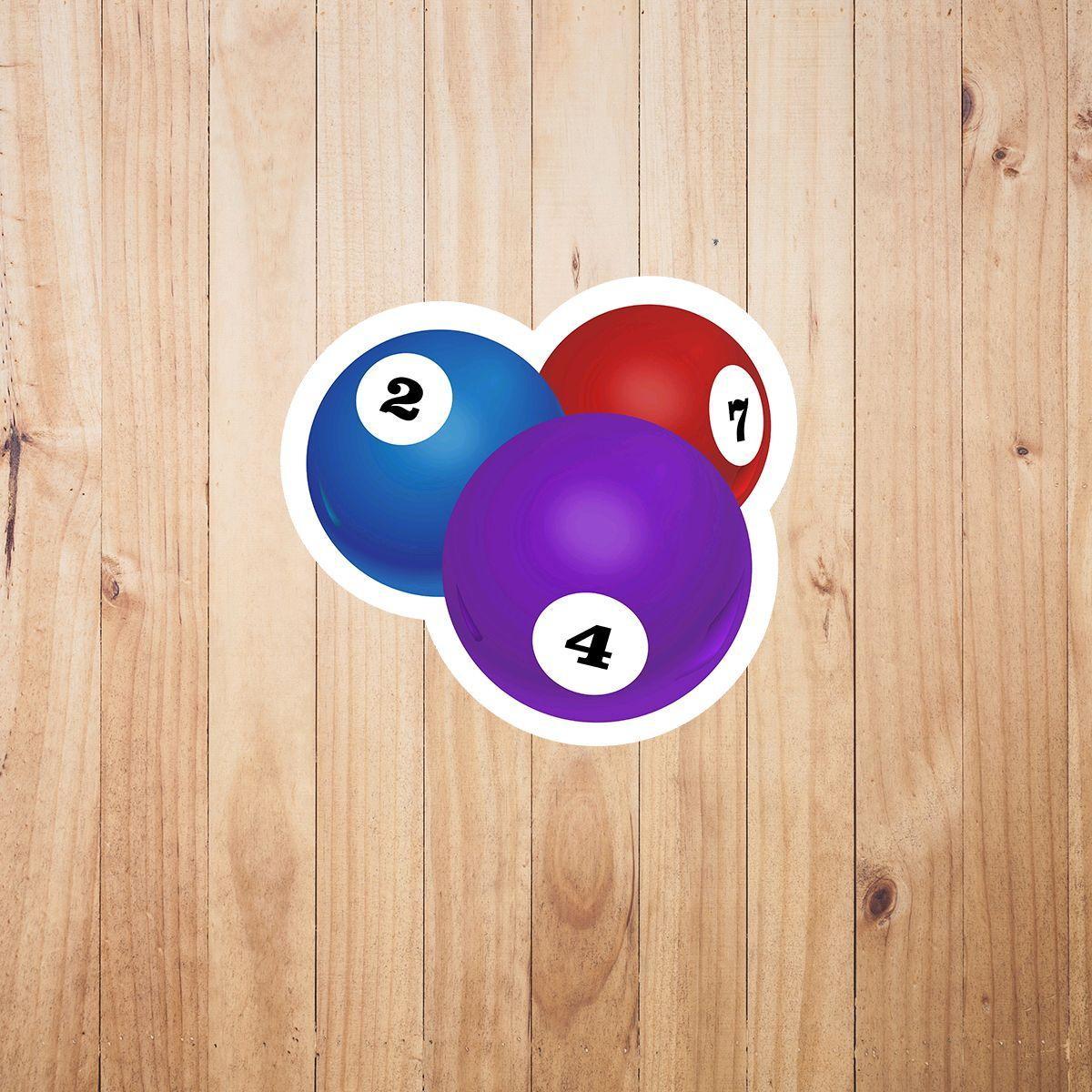 Aplique adesivo tag - bolas sinuca bilhar no Elo7  8818eaa38356b