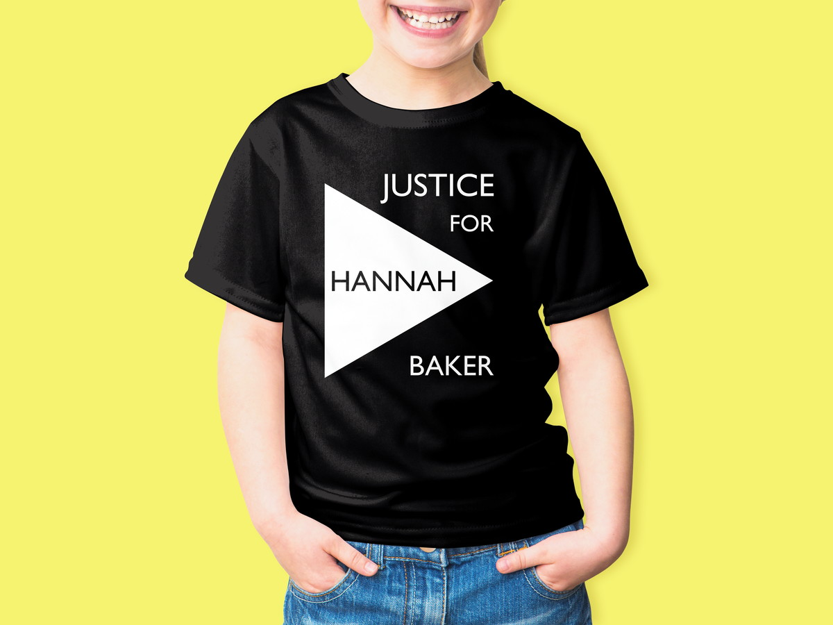 Camiseta Infantil 13 Reasons Why Hanna Back 100% Algodão no Elo7 ... c84a89b10d4e3