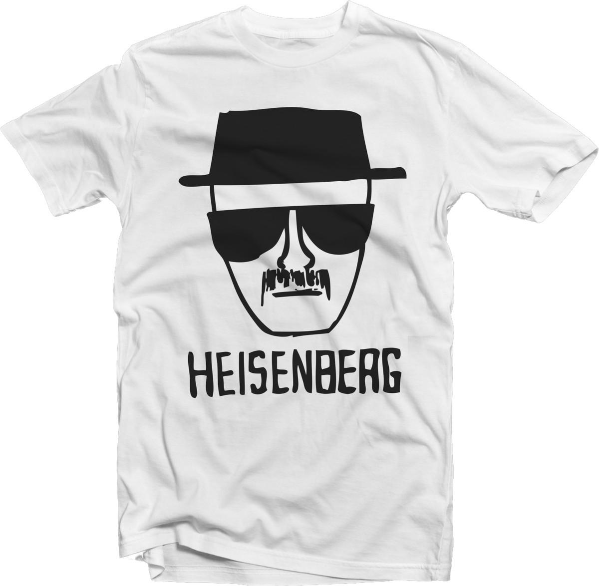 254429524 Camiseta Série Breaking Bad Heisenberg Branca 01 no Elo7
