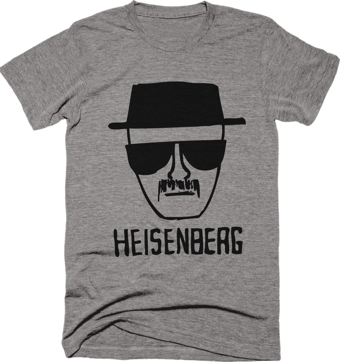 662bdd571 Camiseta Série Breaking Bad Heisenberg Cinza 01 no Elo7