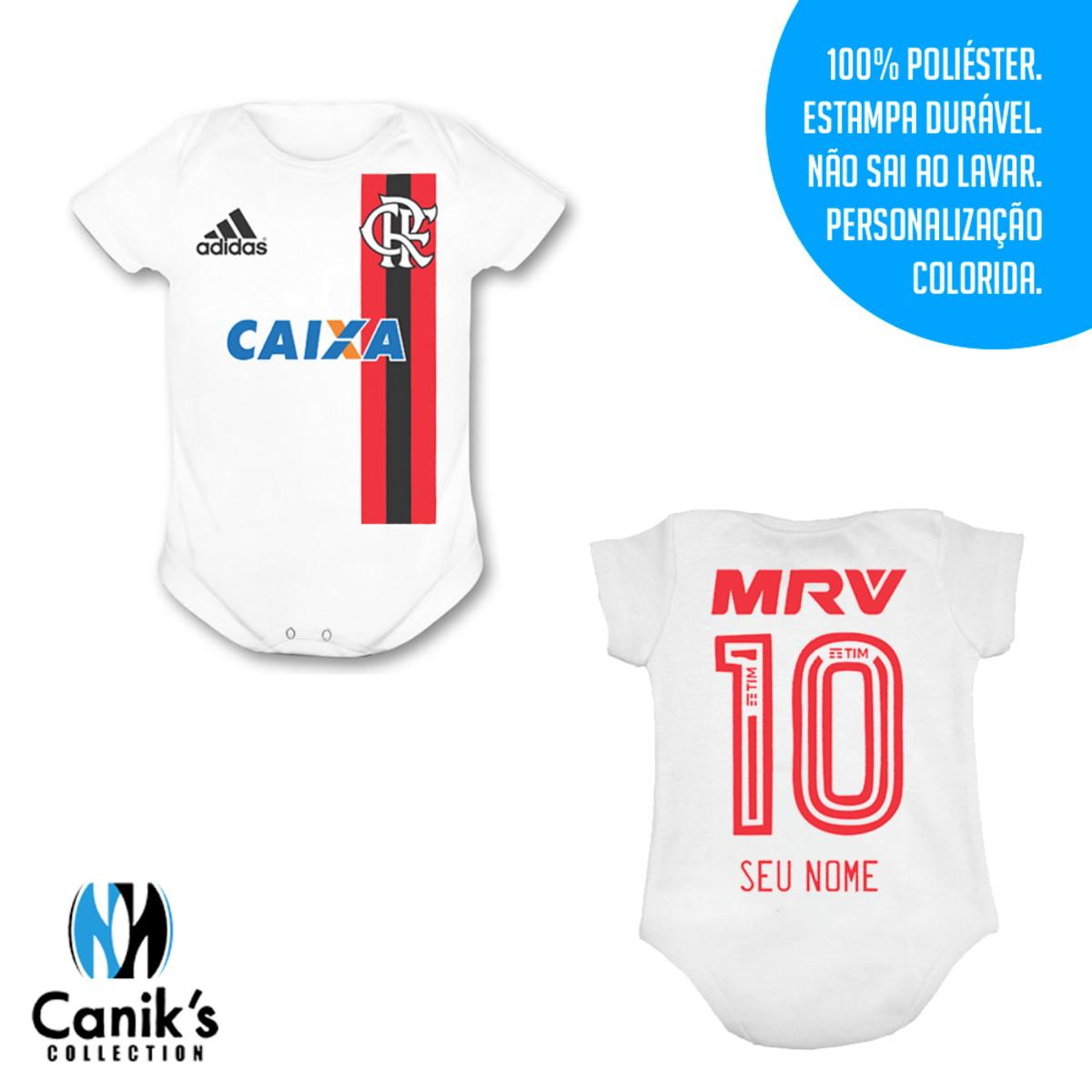 Body Infantil - Uniforme do Flamengo no Elo7  f49c164edc6d3