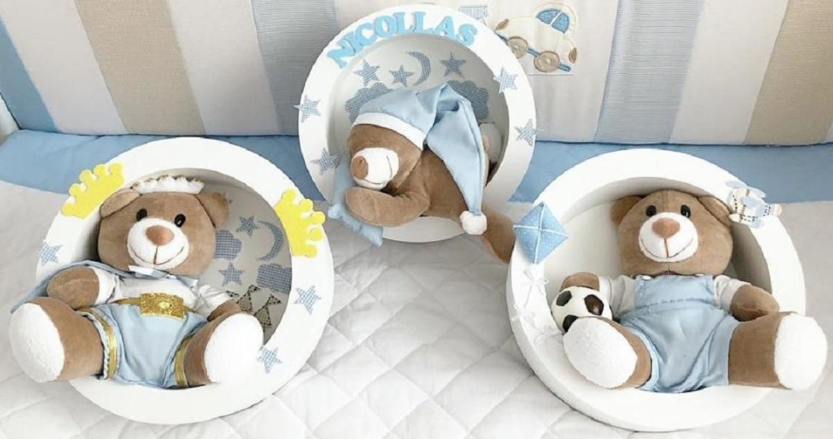 porta maternidade no Elo7   sonhos e lembranças (C6BCBC) be91e8b1ea