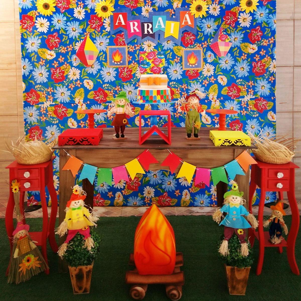 Decoraç u00e3o Festa Junina LOCA u00c7ÃO no Elo7 Rede Festas Decorações (C6D2D3) # Decoração De Balões Festa Junina