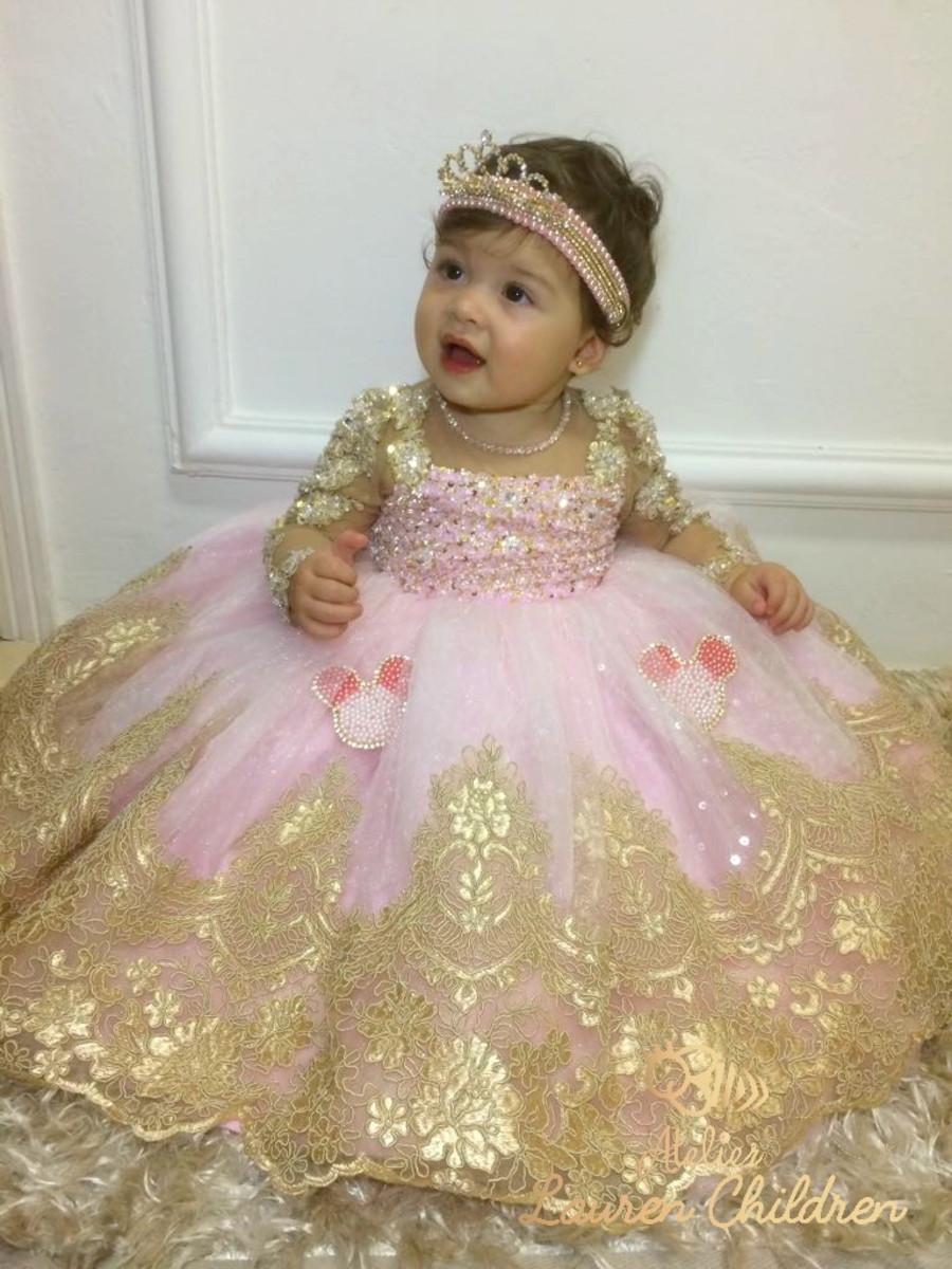Vestido Princesa Minnie