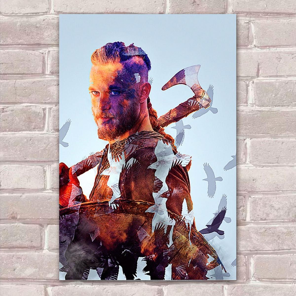 Placa Decorativa Vikings 13 Abstrato 30x20cm No Elo7 Franadesivos