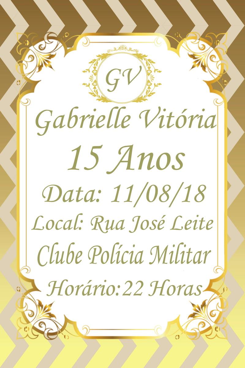 Convite Virtual 15 Anos Noite De Glamour No Elo7 Atelye Márcia