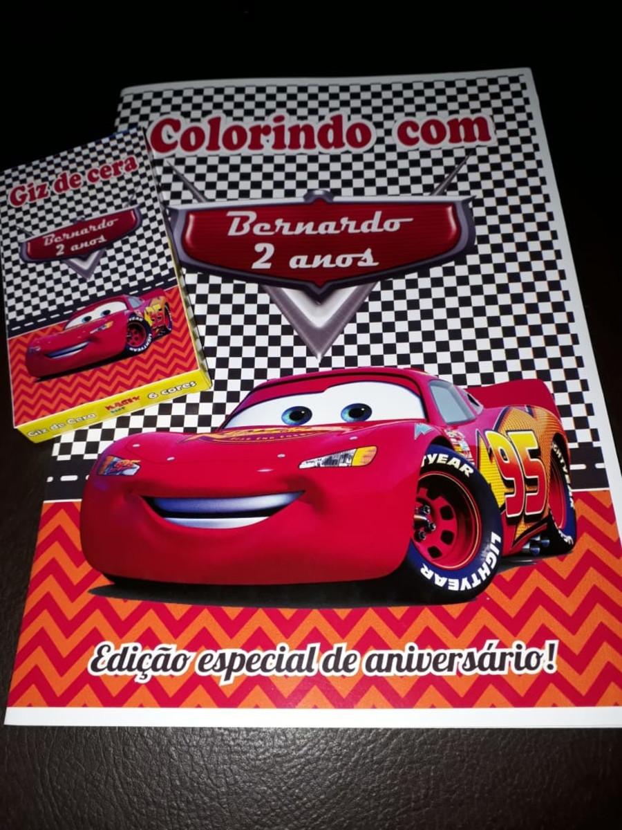 Carros Livro Colorir Giz Cera No Elo7 Sorrisos Brindes