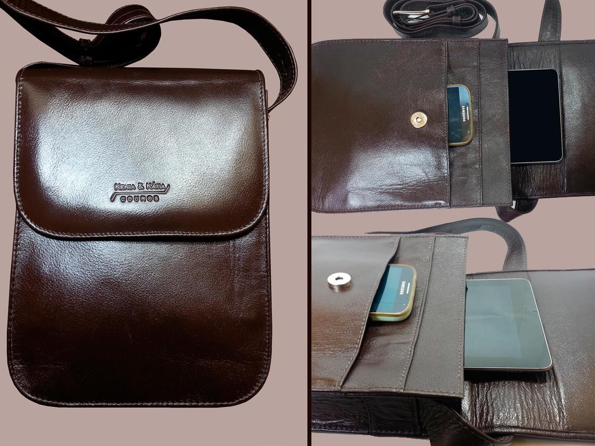 abc725129 bolsa-carteiro-pasta-unissex-transversal-couro-100-legitimo-bolsa-masculina;  Zoom · Zoom ...