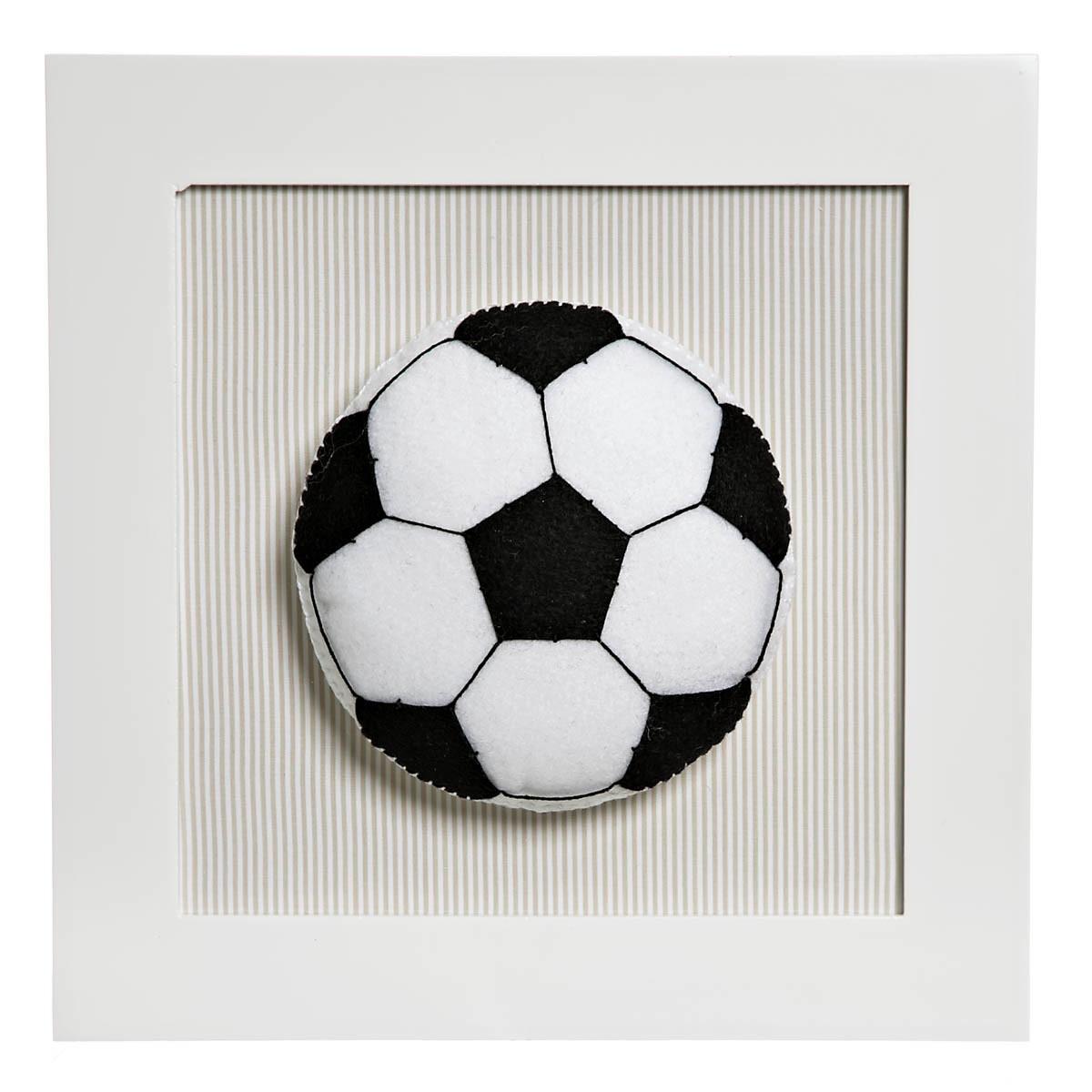 Quadrinho Quadro Futebol Menino Bege Quarto Bebê Infanti no Elo7 ... 088a7e7d69127