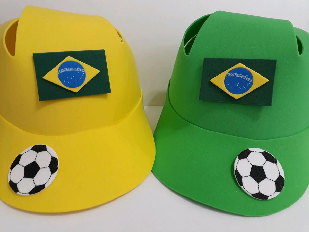 Chapéu Brasil no Elo7  09ac6c7eaa0