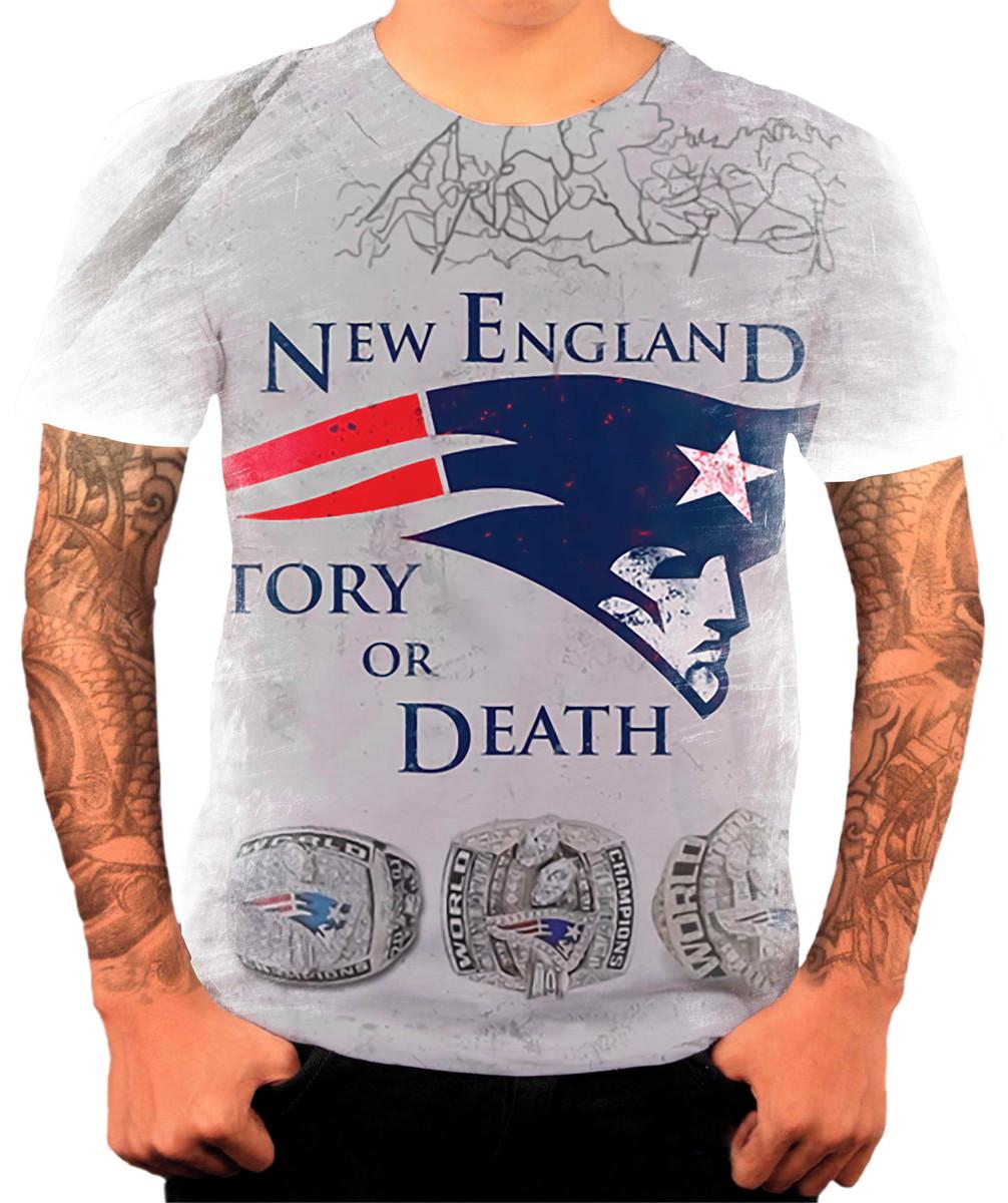 Camisa Camiseta Personalizada Futebol Americano Patriots 1 no Elo7 ... c48cac178f5c1
