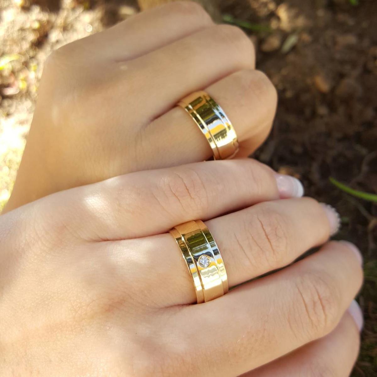 aliança de casamento moeda antiga 6mm no Elo7   Marcelo - Ateliê de ... b32ab74586