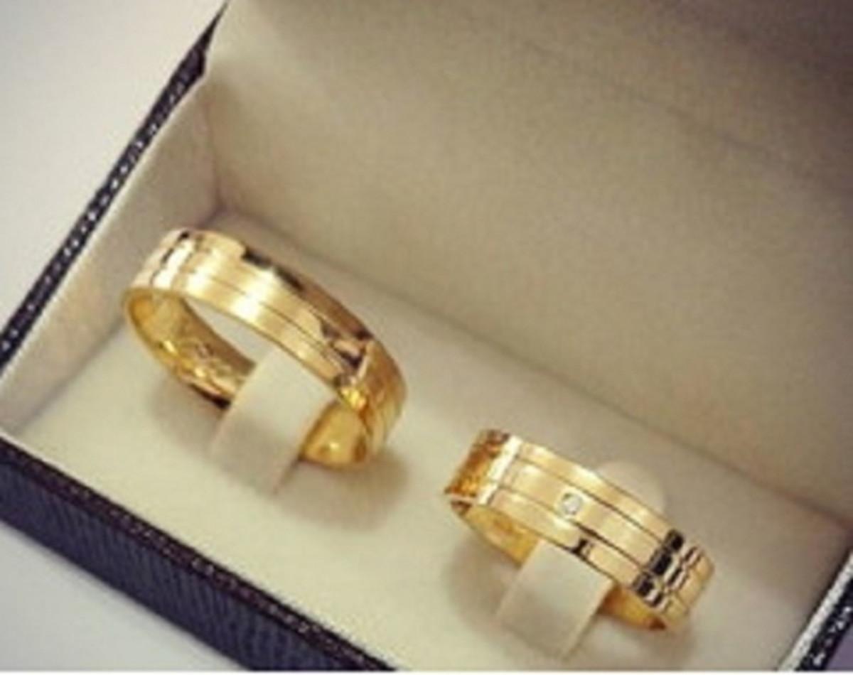 aliança de casamento de moeda 6mm no Elo7   Marcelo - Ateliê de ... a03eec466d