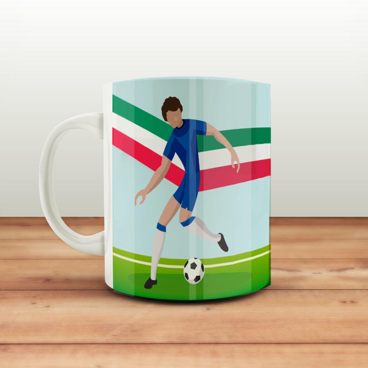 bdeaba5cca1 Caneca Copa do Mundo - Itália Tetra no Elo7