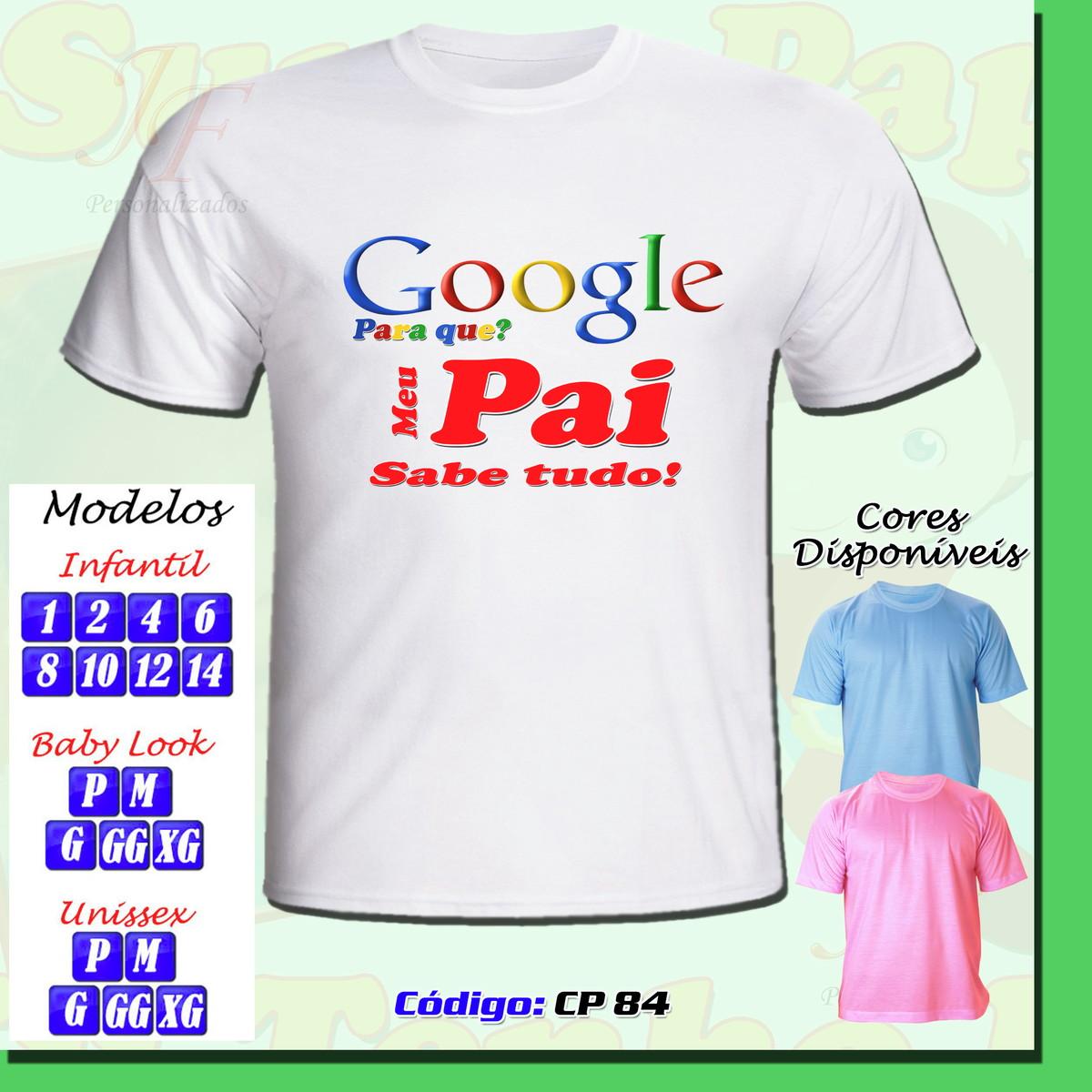 ac0f1666d 01 Camiseta Adulto Infantil Personalizada Dia dos Pais no Elo7 ...
