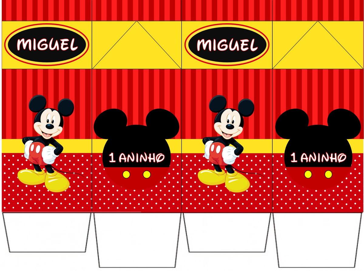 Caixa Milk Personalizada Mickey Minnie No Elo7 Hora Da Festa