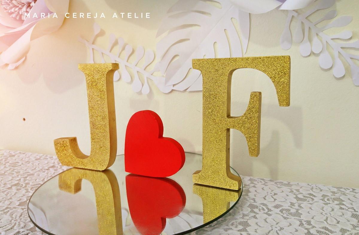letras decoradas mdf glitter