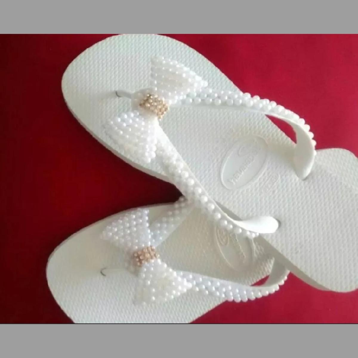 4198f7b17 Sandálias Decoradas no Elo7 | Leu-artesanato (C7B145)