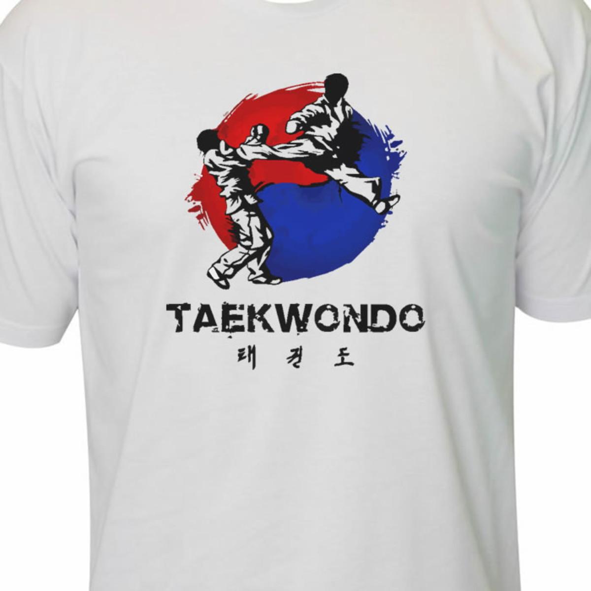 af5615c0af Camiseta taekwondo luta mma academia no Elo7