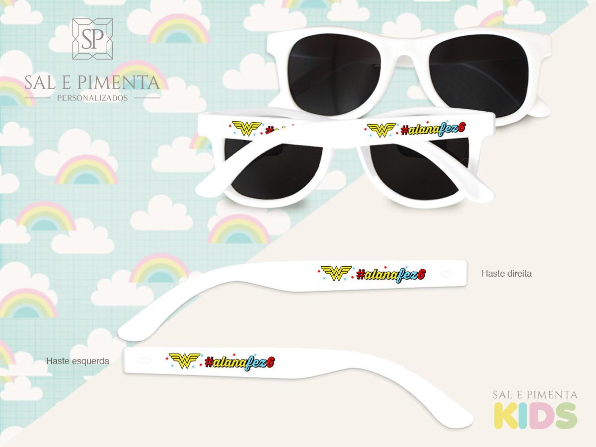 Óculos de Sol Personalizados - INFANTIL - Mulher Maravilha no Elo7 ... c1a8048f22