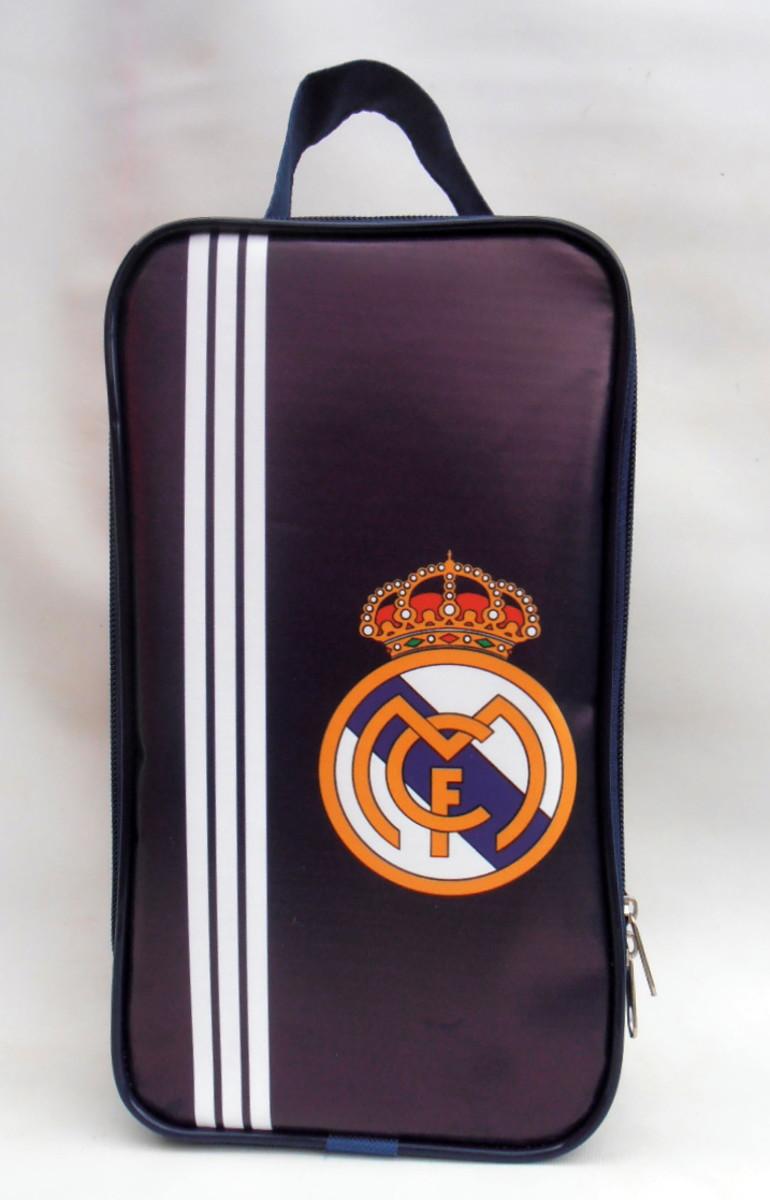 6c2a072bce Porta Chuteira Infantil Real Madrid no Elo7