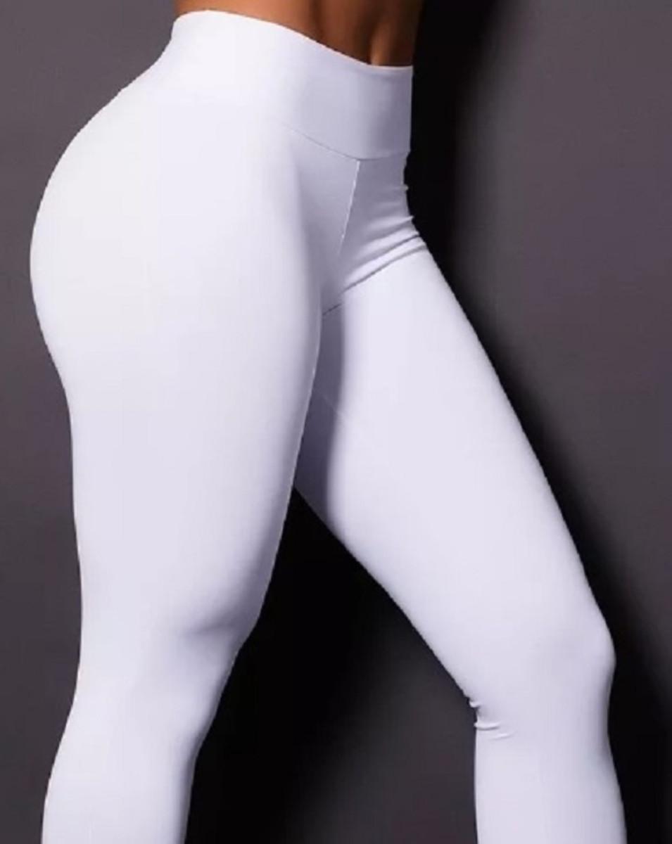 Legging Cintura Alta Poliamida P - Branca - Promoção! no Elo7 ... ecfc15dc44e