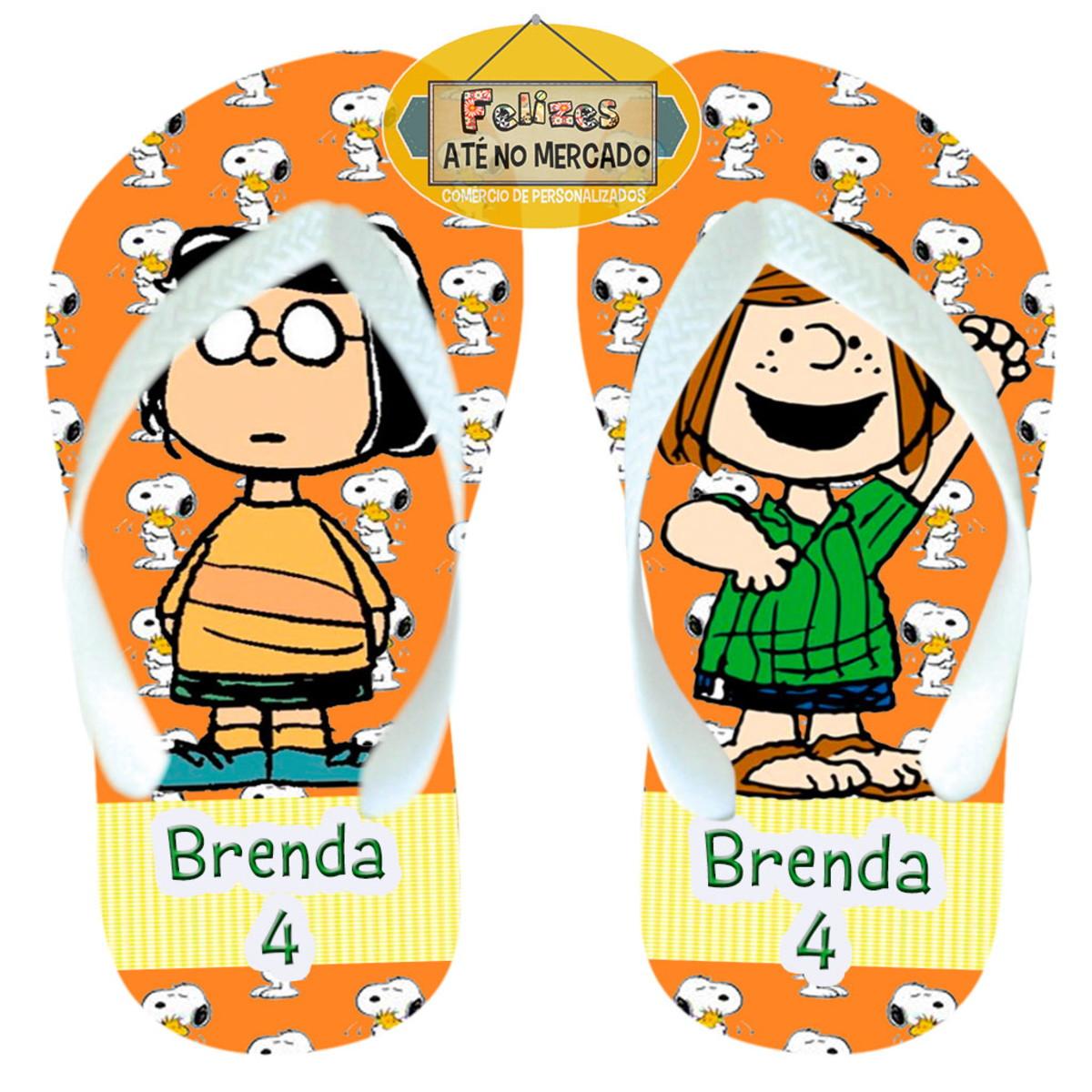 8df8c2d1de1505 Snoopy Chinelo Adulto Infantil Lembrancinha Aniversário!