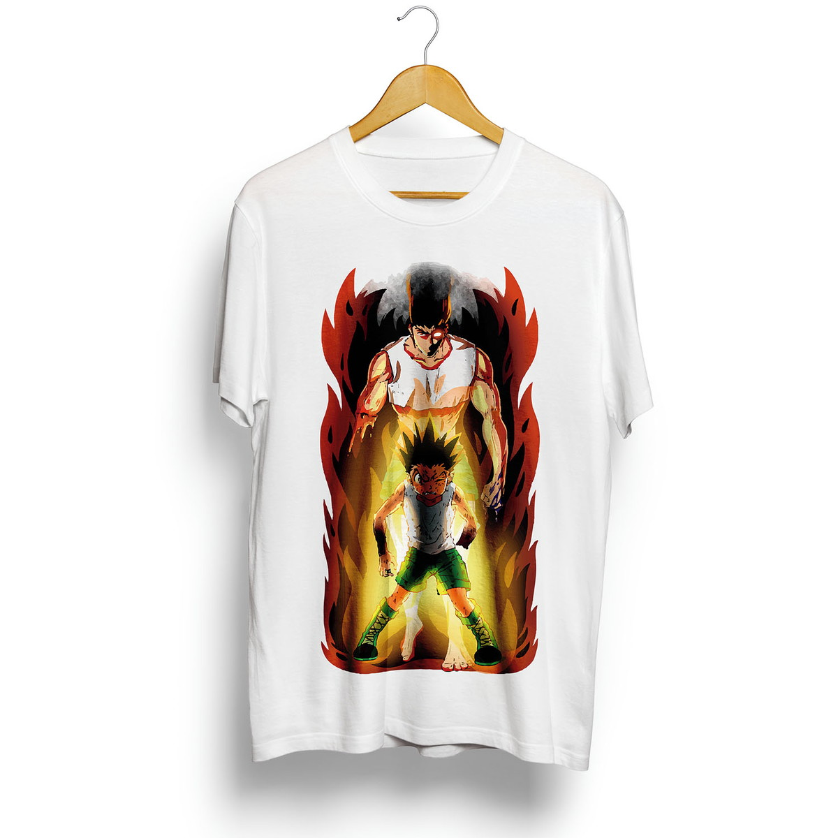 e368f924cea Camiseta Hunter X Hunter Gon Transformação Animes Geek no Elo7 ...