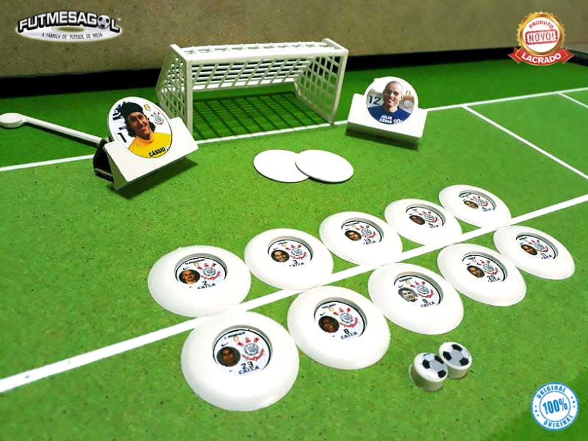 cd9d910058 1 Jogo Futebol De Botão TIMÃO BI-MUNDIAL 2012 c Fotos +Nomes no Elo7 ...